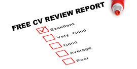 Free CV review by our CV writing service